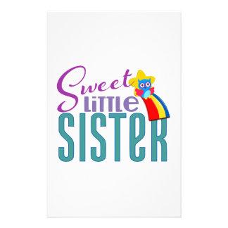Pequeña hermana dulce  papeleria