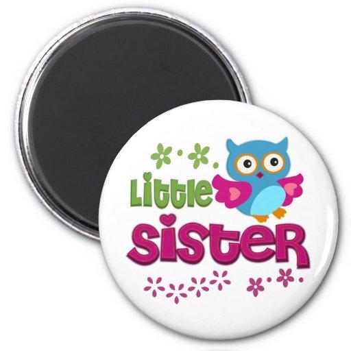 Pequeña hermana imán redondo 5 cm