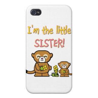 Pequeña hermana iPhone 4/4S funda