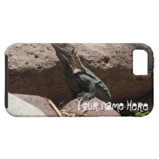 Pequeña iguana en las rocas; Personalizable Funda Para iPhone SE/5/5s