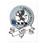 Pequeña insignia del clan tarjetas postales