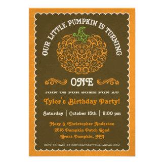 Pequeña invitación de encaje II del cumpleaños de