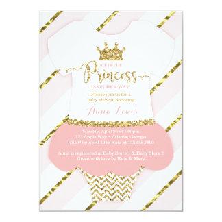 Pequeña invitación de la princesa fiesta de