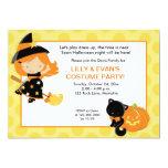 Pequeña invitación del fiesta 5x7 de Halloween de Invitación 12,7 X 17,8 Cm