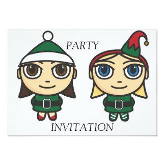 Pequeña invitación del fiesta de los ayudantes de