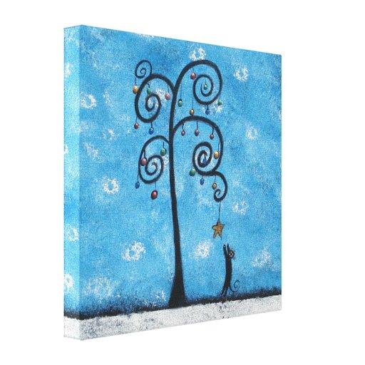 Pequeña lona envuelta de los milagros galería impresiones en lienzo estiradas