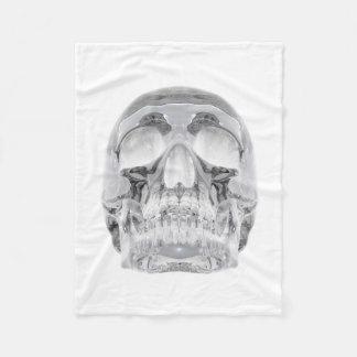 Pequeña manta del paño grueso y suave del cráneo manta de forro polar