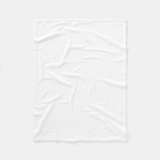 Pequeña manta del paño grueso y suave manta de forro polar