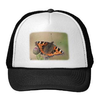 Pequeña mariposa de concha 9Y417D-010 Gorros Bordados