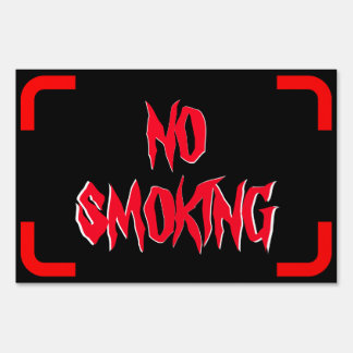Pequeña muestra de no fumadores carteles