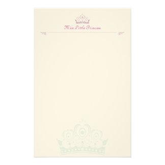 Pequeña Note-paper de princesa Personalised Papeleria De Diseño