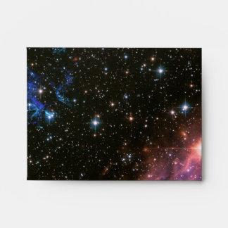 Pequeña nube de Magellanic de los fuegos Sobres