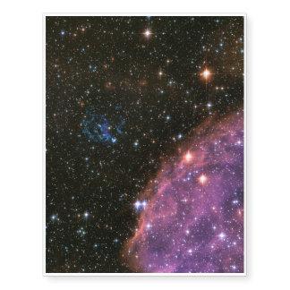 Pequeña nube de Magellanic de los fuegos Tatuajes Temporales