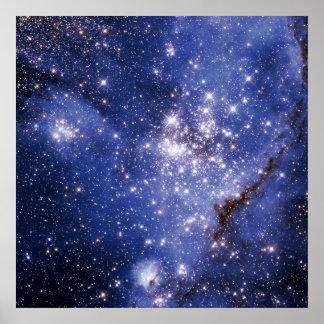 Pequeña nube de Magellanic Póster