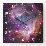 Pequeña nube de Magellanic púrpura Relojes