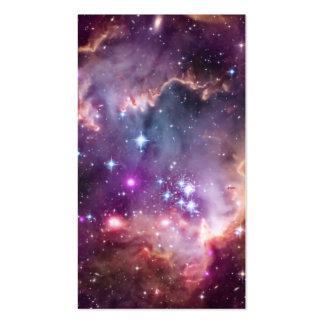 Pequeña nube de Magellanic púrpura Tarjetas De Visita