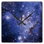 Pequeña nube de Magellanic Relojes De Pared