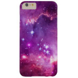 Pequeña nube de Magellanic teñida púrpura Funda De iPhone 6 Plus Barely There