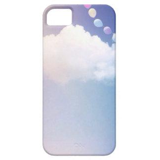 Pequeña nube feliz iPhone 5 carcasas