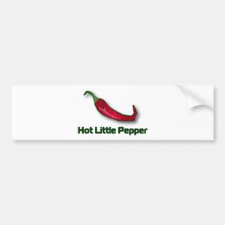 Pequeña pimienta caliente pegatina para auto
