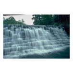 Pequeña presa hidroeléctrica poster
