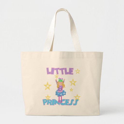 Pequeña princesa bolsas