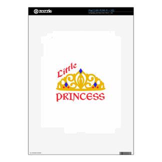 Pequeña princesa calcomanía para el iPad 2