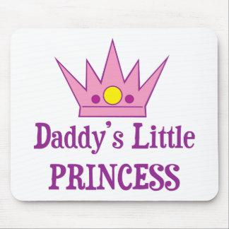 Pequeña princesa de Daddys Alfombrillas De Ratones
