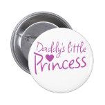 Pequeña princesa de Daddys Pins