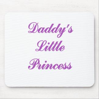 Pequeña princesa de Daddys Tapetes De Ratón