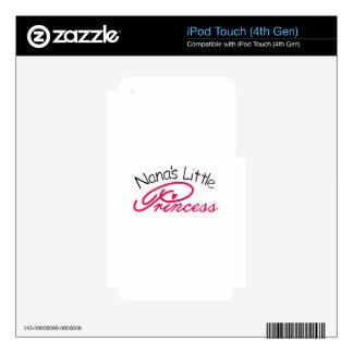 Pequeña princesa de Nanas iPod Touch 4G Skin