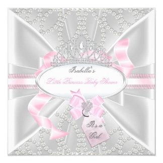 """Pequeña princesa Diamonds 3 del chica bonito de la Invitación 5.25"""" X 5.25"""""""