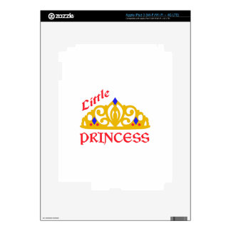 Pequeña princesa iPad 3 skin