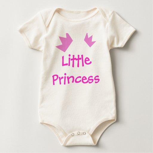 Pequeña princesa Natural Creeper Body De Bebé