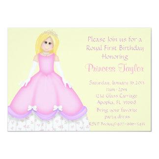 """Pequeña princesa Party Invitation Invitación 4.5"""" X 6.25"""""""