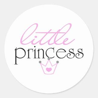 Pequeña princesa pegatina