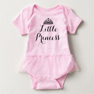 Pequeña princesa Pink Baby Tutu Bodysuit Body Para Bebé