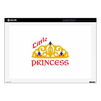 Pequeña princesa portátil calcomanías