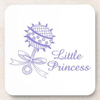Pequeña princesa posavasos de bebidas