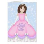Pequeña princesa Thank You Card Felicitacion