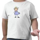 Pequeña princesa With Crown Camisetas