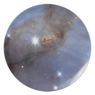 Pequeña sección de la nebulosa de Carina Plato De Comida