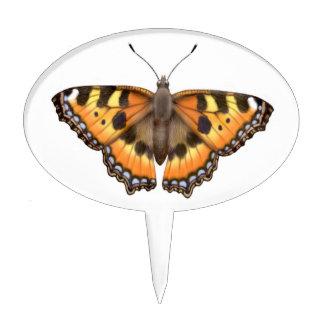 Pequeña selección de la torta de la mariposa de figura para tarta