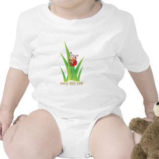 Pequeña señora bonita Ladybug Camisetas