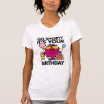 Pequeña Srta. Birthday el | va la versión 33 de Playeras