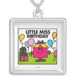 Pequeña Srta. Birthday Scene Collares Personalizados