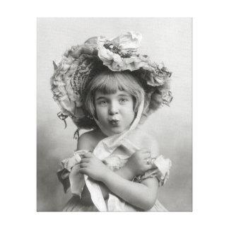 Pequeña Srta. Bonnet, 1902 Impresion De Lienzo