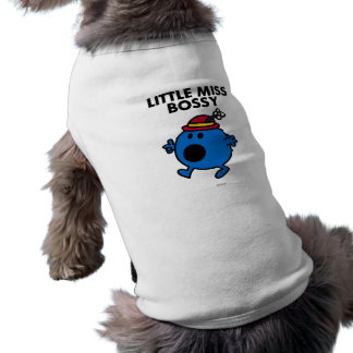 Pequeña Srta. Bossy Classic 2 Camisa De Perro