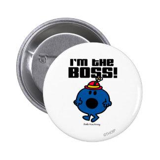 Pequeña Srta. Bossy el | soy Boss Pin Redondo De 2 Pulgadas