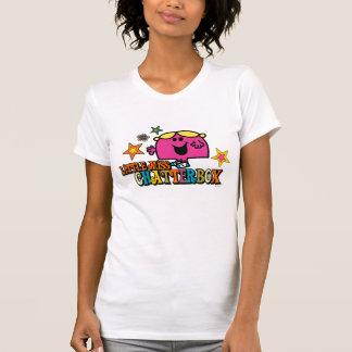 Pequeña Srta. Chatterbox y estrellas coloridas Tshirts